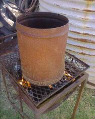 Chimney on Braai